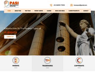 pasi.co.in screenshot
