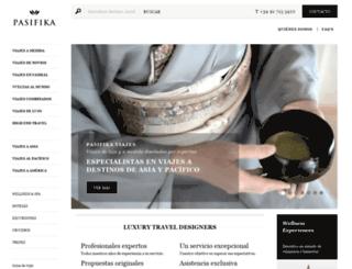 pasifika.es screenshot