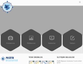 pasifikbilgisayar.com screenshot