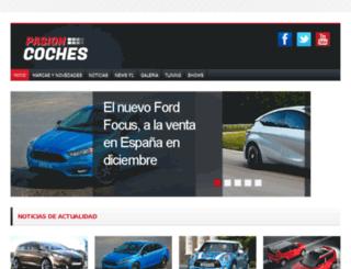 pasioncoches.com screenshot