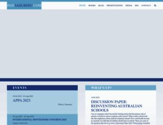 pasisahlberg.com screenshot