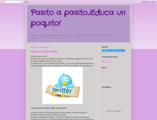 pasitoapasitoeducaunpoquito.blogspot.com screenshot