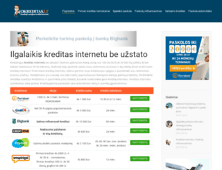 paskola.us.lt screenshot