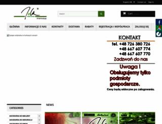 pasmanteria-jola.sklep.pl screenshot