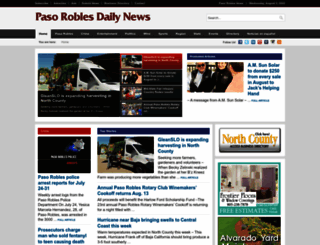 pasoroblesdailynews.com screenshot