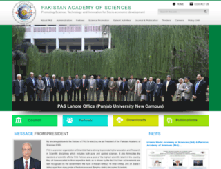 paspk.org screenshot