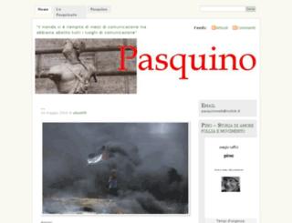 pasquinoweb.wordpress.com screenshot