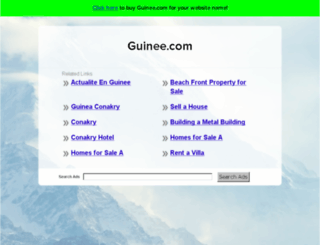 pass-orange.guinee.com screenshot