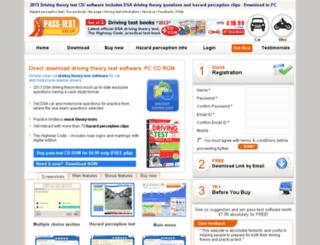 pass-test.co.uk screenshot