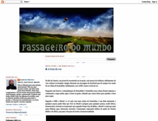 passageirodomundo.blogspot.com screenshot