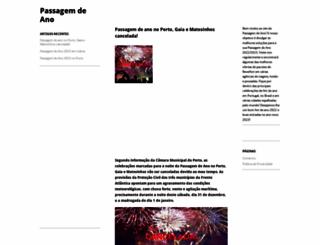 passagemdeano.net screenshot