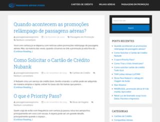 passagensaereaspromo.com.br screenshot