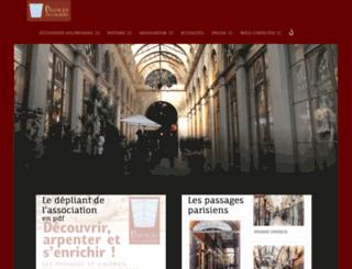 passagesetgaleries.org screenshot