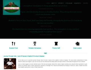 passagethruindia.com screenshot