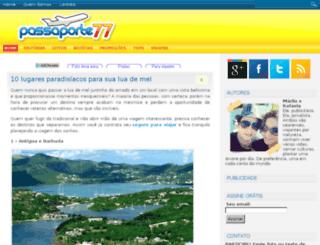 passaporte77.com screenshot