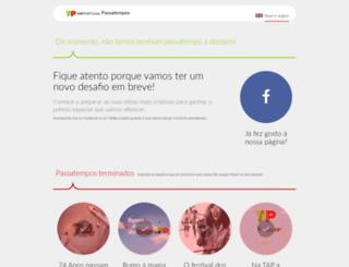 passatempos.flytap.com screenshot