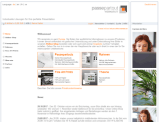 passepartout-service.de screenshot