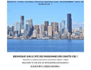passion-gratte-ciel.com screenshot