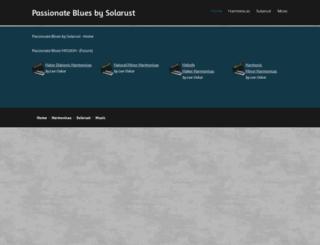 passionateblues.com screenshot