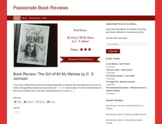 passionatebookreviews.blogspot.in screenshot