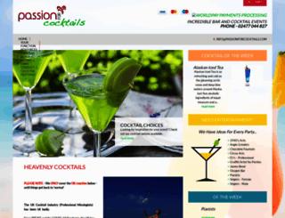 passionforcocktails.com screenshot