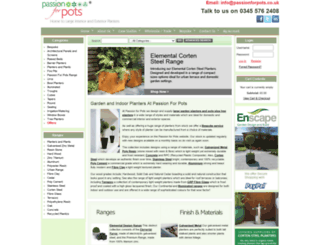 passionforpots.com screenshot