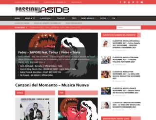passioninside.it screenshot
