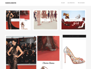 passionlouboutin.blogspot.com screenshot