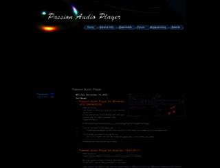 passionplayer.com screenshot