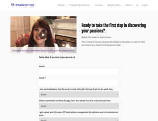 passiontest.com screenshot