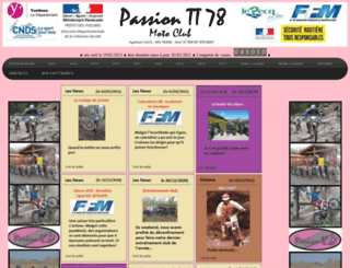 passiontt78.fr screenshot