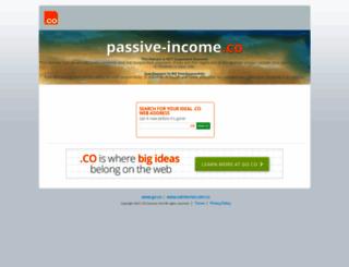 passive-income.co screenshot