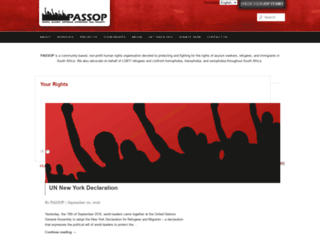 passop.co.za screenshot