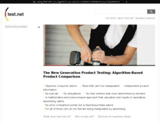 passport.test.net screenshot