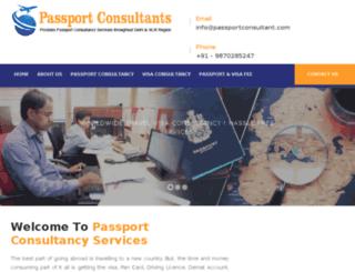 passportconsultant.com screenshot