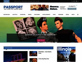 passportmagazine.com screenshot