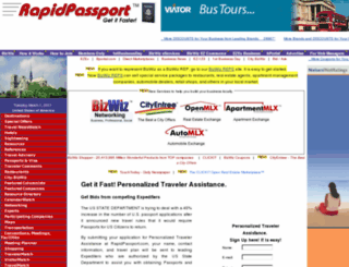 passports.bizwiz.com screenshot