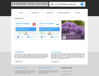 passportsevakendra.net.in screenshot