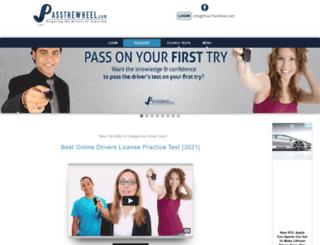 passthewheel.com screenshot