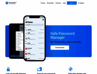 passwarden.com screenshot
