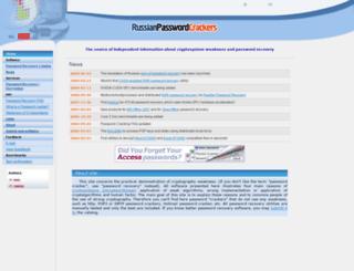 password-crackers.com screenshot
