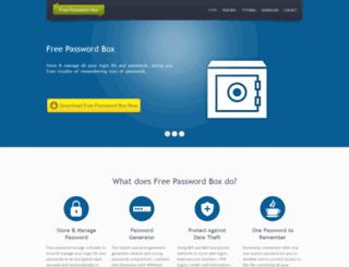 password-store.com screenshot