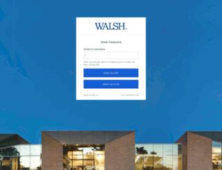 passwordreset.walshcollege.edu screenshot