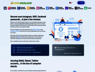 passwordrevelator.net screenshot