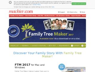 past.familytreemaker.com screenshot