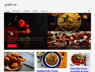 pasta.com screenshot