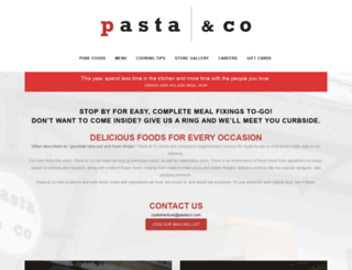 pastaco.com screenshot