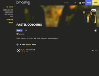 pastelcolours.amazingtunes.com screenshot