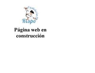pasteleriarispocanarias.es screenshot