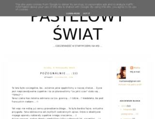 pastelowywiat.blogspot.ie screenshot